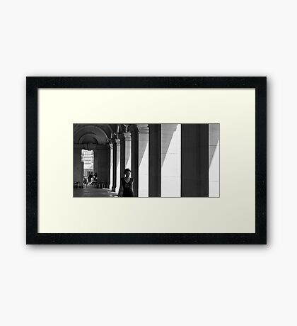 Melbourne GPO Framed Print