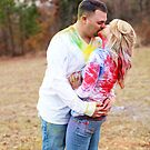 colorful kisses by Kendal Dockery
