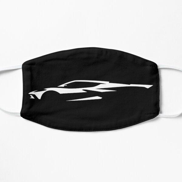 Chevrolet Corvette C8 Silhouette - White Flat Mask