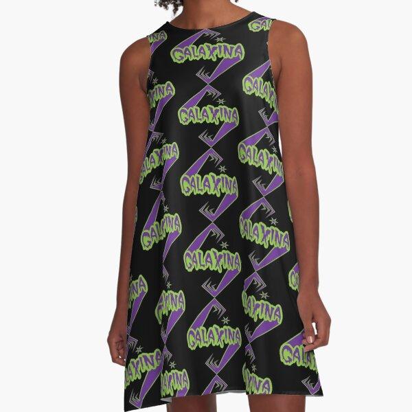 Galaxina Alien Arms Logo A-Line Dress