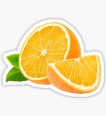 Cut orange Sticker
