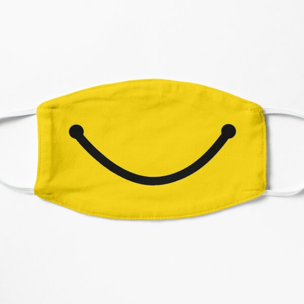 Smiley Face Flat Mask