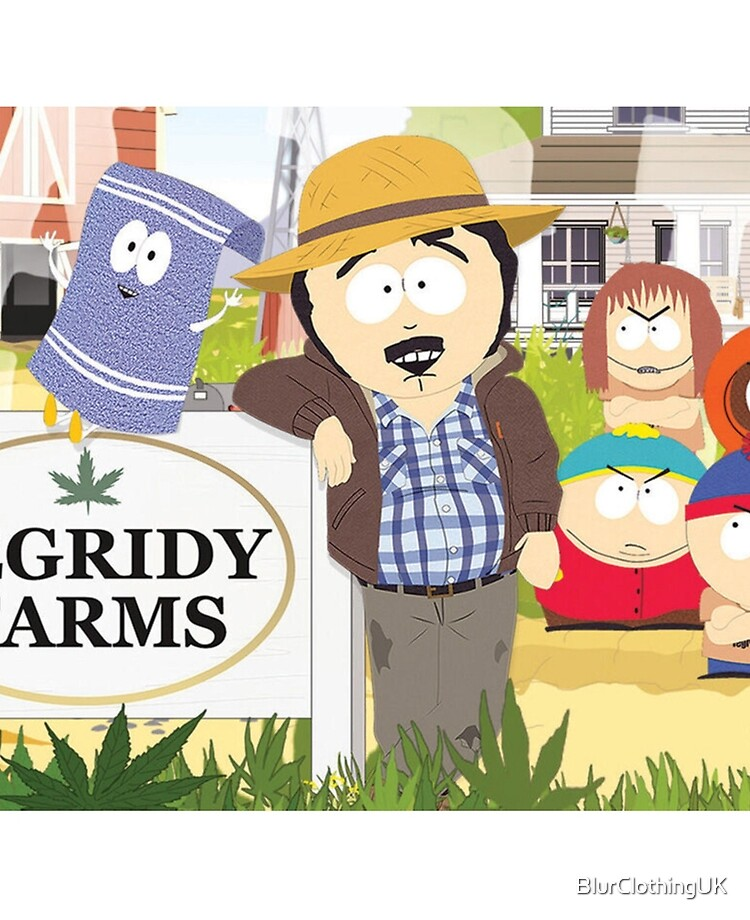 Tegridy Farms Randy Marsh South Park Ipad Case Skin By Blurclothinguk Redbubble