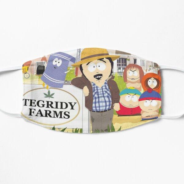 Tegridy Farms Randy Marsh South Park Flat Mask