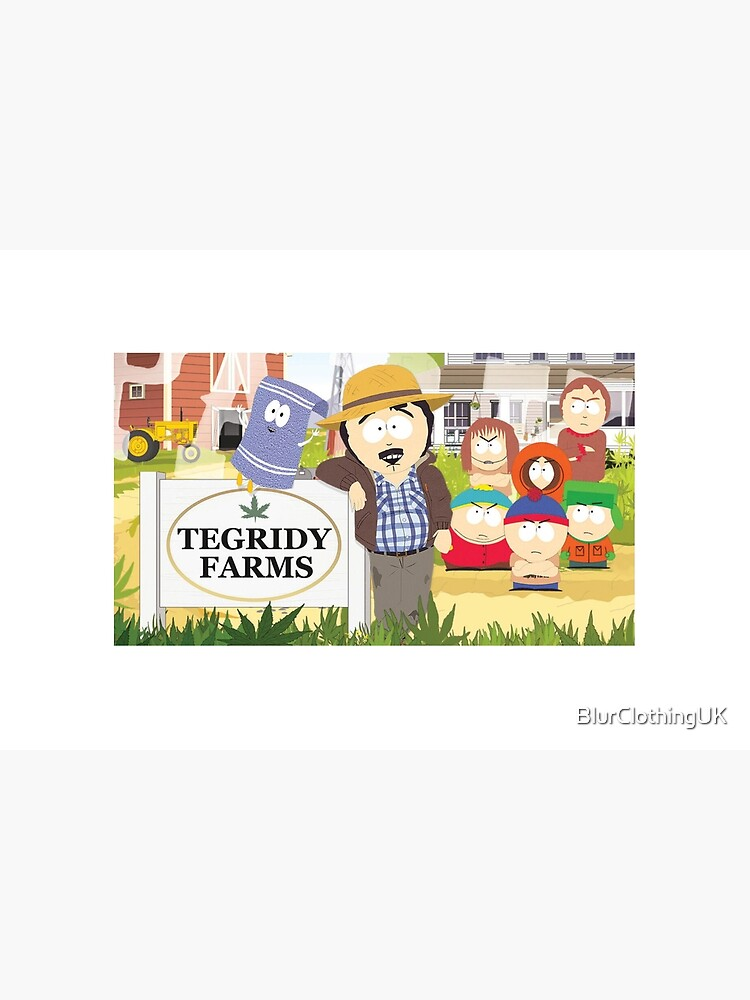 Tegridy Farms Randy Marsh South Park by BlurClothingUK