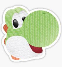 Yarn Yoshi Sticker