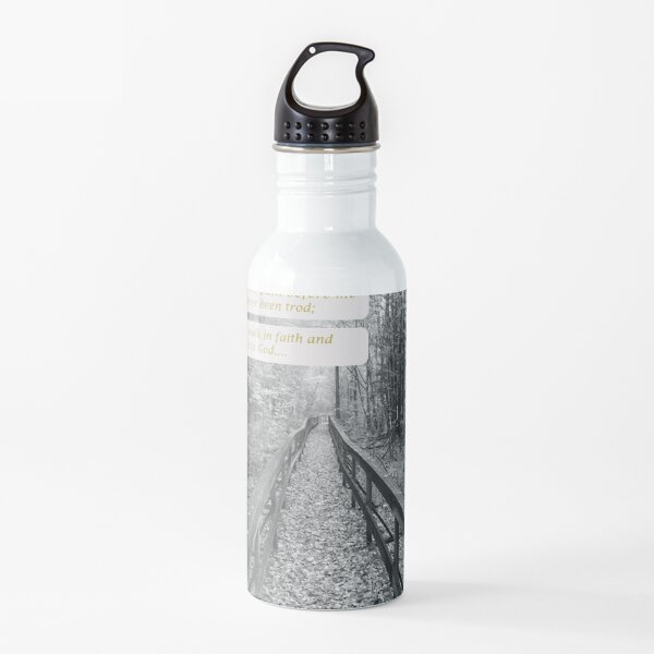 "Believe - ""Walk in Faith"" Water Bottle"