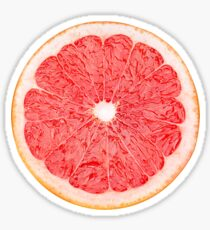 Slice of grapefruit Sticker