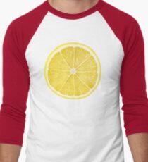 Slice of lemon Men's Baseball ¾ T-Shirt