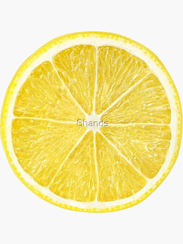 Rebanada de limón de 6hands