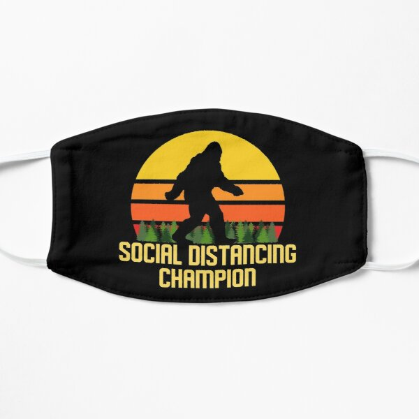 Social Distancing Champion Bigfoot Mask