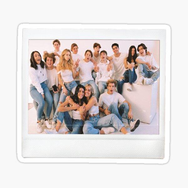 Hype House Polaroid Pegatina