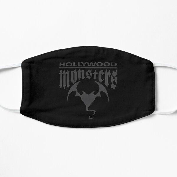 Hollywood Monsters Text Bat Logo - DARK GREY Flat Mask