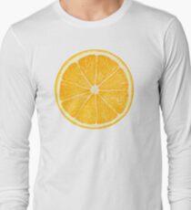 Slice of orange fruit Long Sleeve T-Shirt