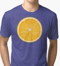 Slice of orange fruit Tri-blend T-Shirt