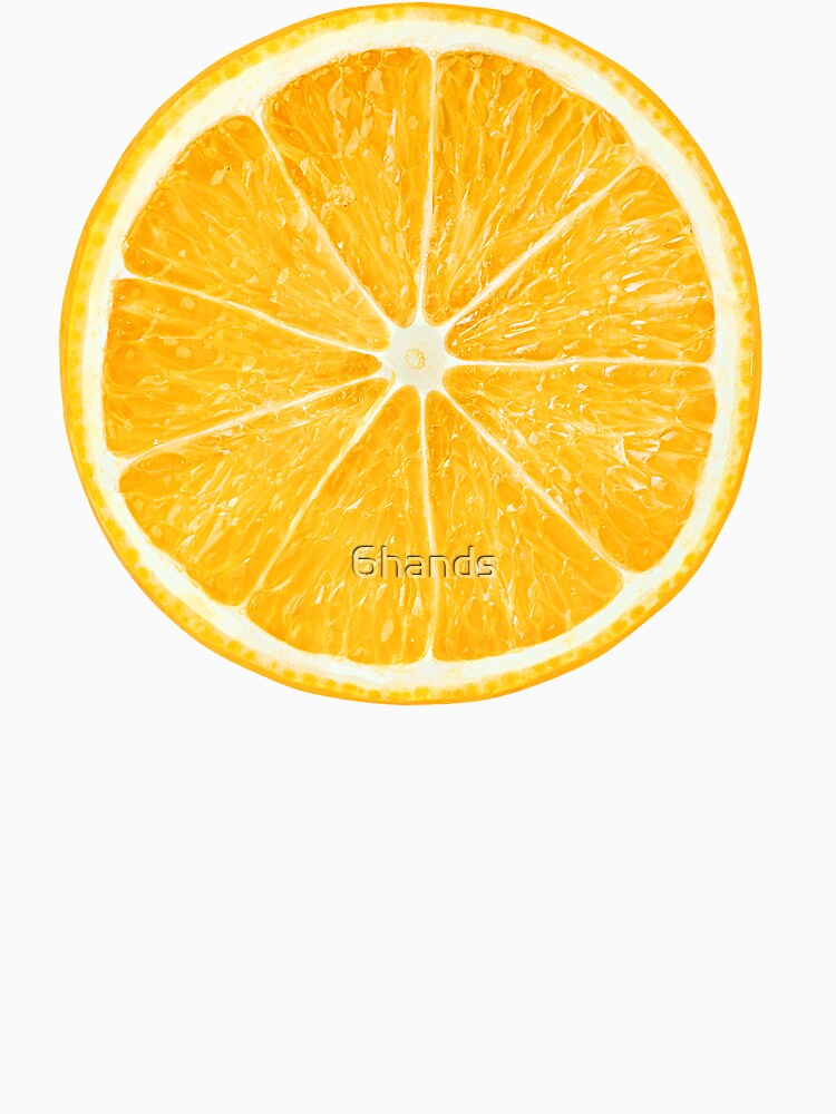 Rebanada de fruta de naranja de 6hands
