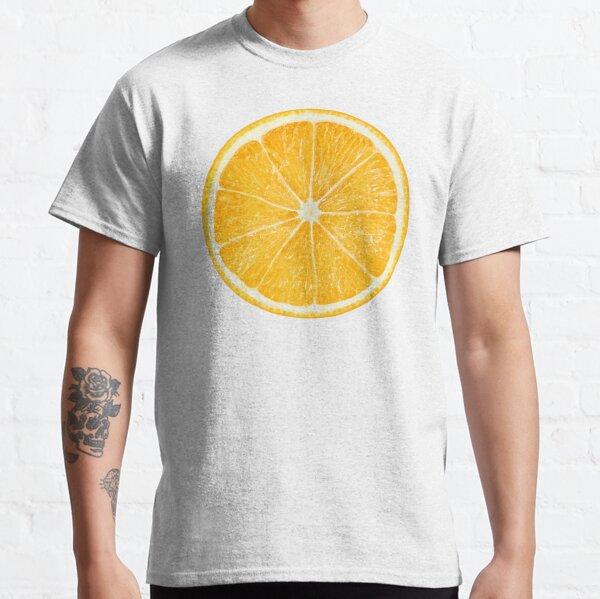 Slice of orange fruit Classic T-Shirt