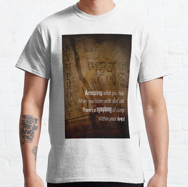 "Listen - ""Symphony of the Heart"" Classic T-Shirt"