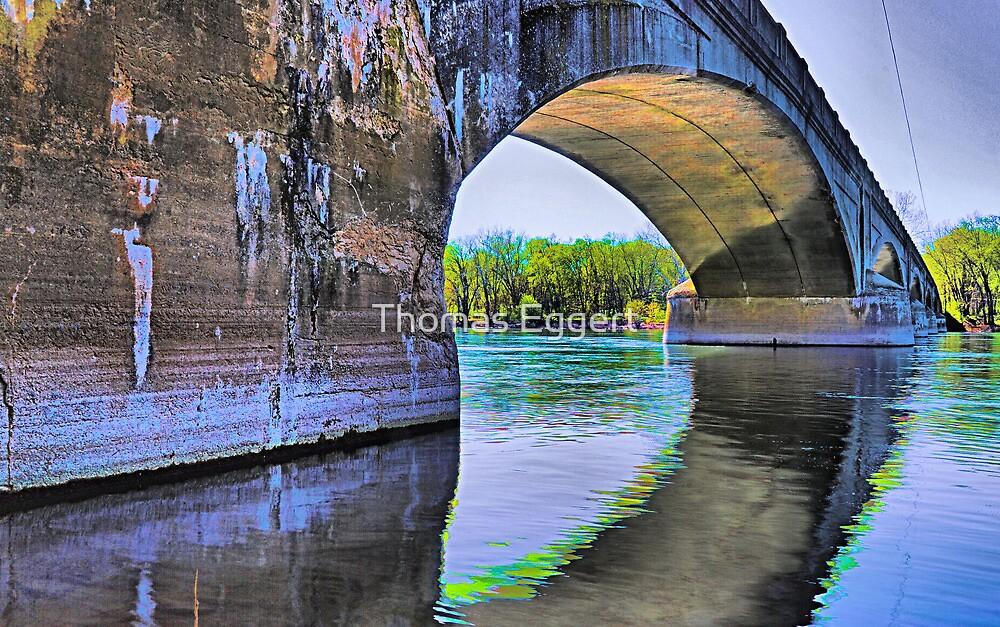 River Reflections... by Thomas Eggert
