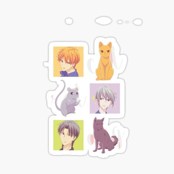 Kyo, Yuki, Shigure (Fruits Basket) Sticker