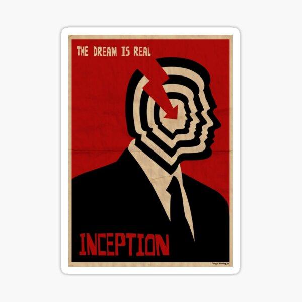 Inception Poster Sticker