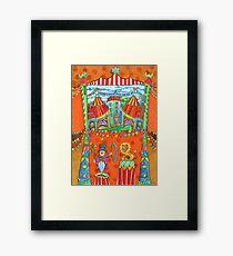 art for kids - circus kupus Framed Print