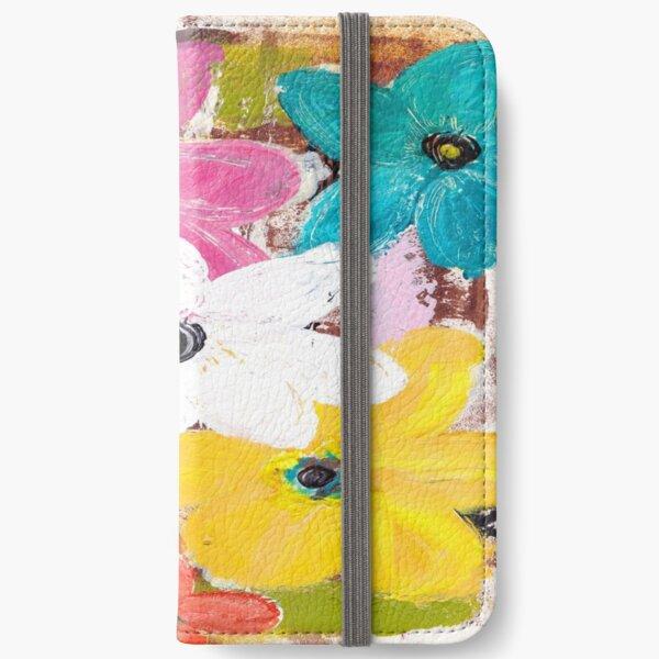 GARDEN OF COLOUR iPhone Wallet
