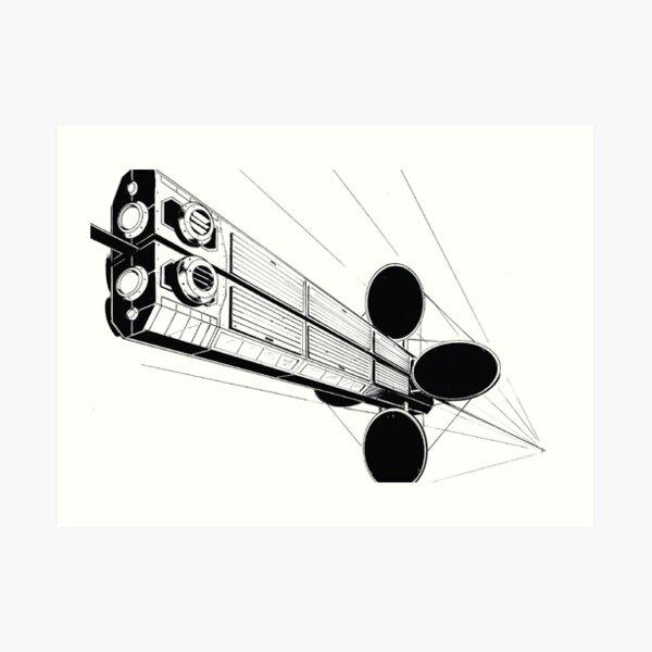Cargolifter Art Print