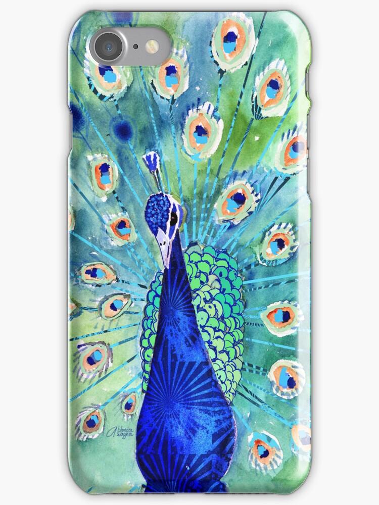 Peacock In Bloom by arline wagner