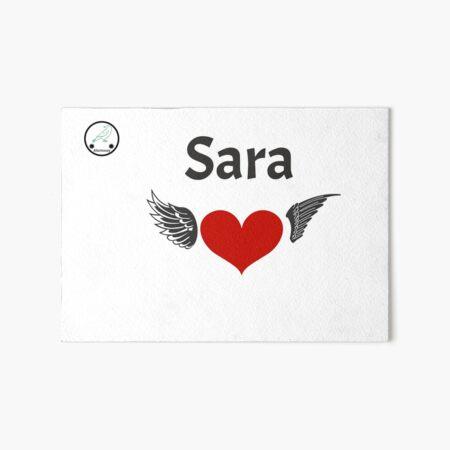 Sara corazón Lámina rígida
