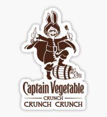 Captain Vegetable Sticker