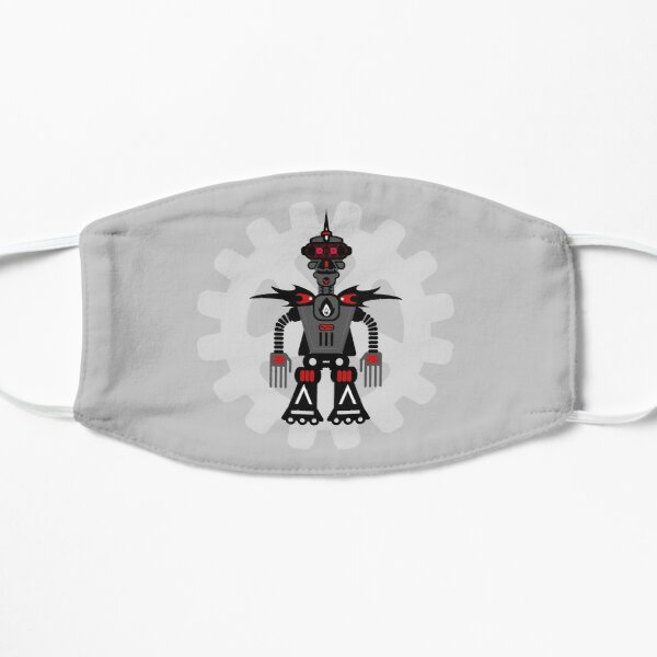 Evil Robot Flat Mask