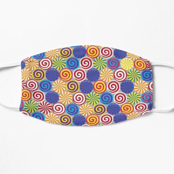 Hard Candies (Pattern) Flat Mask