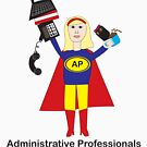 Administrative Professional Super Hero (Blonde) by ValeriesGallery