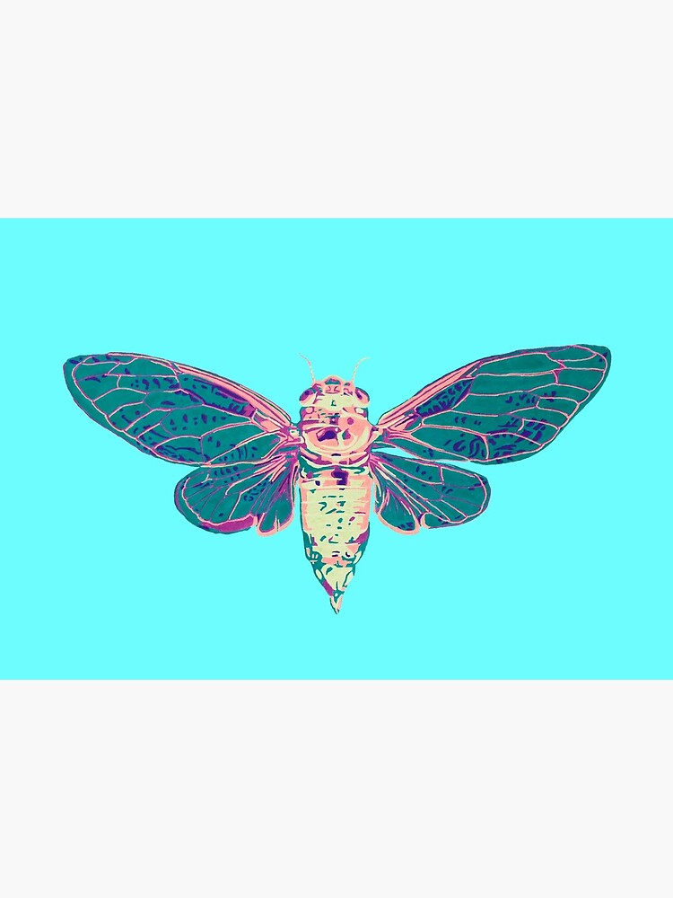 Flying Cicada by RaLiz