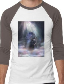 Raccoon Spirit Men's Baseball ¾ T-Shirt