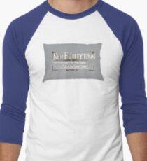 New Fluffytown Men's Baseball ¾ T-Shirt