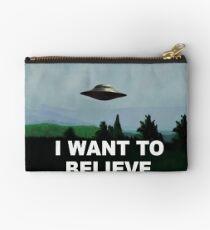 i want to believe Studio Pouch