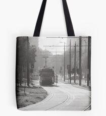 Melbourne Morning Tram Tote Bag