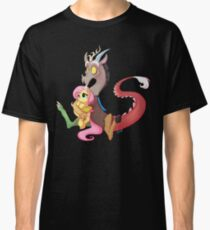 Discord and Fluttershy Cuddles Classic T-Shirt