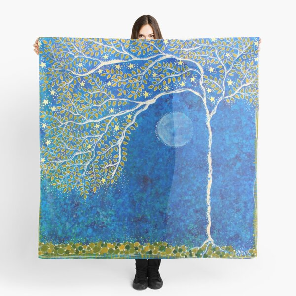 Peaceful Branches Scarf