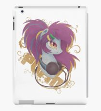 Aerial Soundwaves Headphones Portrait iPad Case/Skin