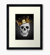 Royal Skull Framed Print