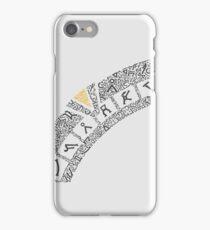 Earth (White) iPhone Case/Skin