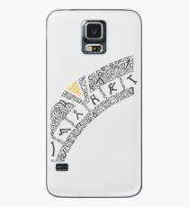 Earth (White) Case/Skin for Samsung Galaxy