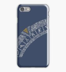 Earth (Navy) iPhone Case/Skin