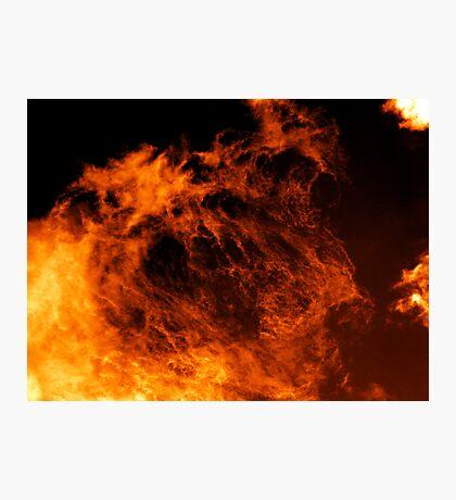 Fire Demon Photographic Print