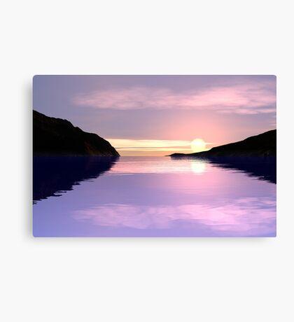 Lilac Sunrise Canvas Print