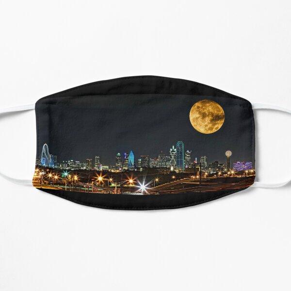 Dallas Skyline Supermoon 2015 Mask
