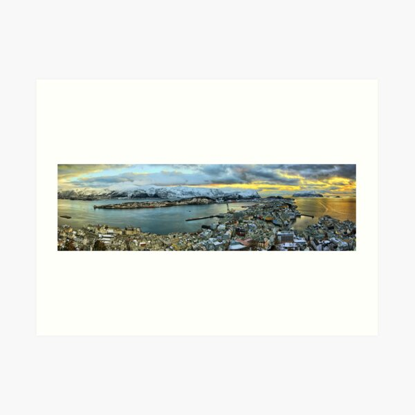 Ålesund Art Print